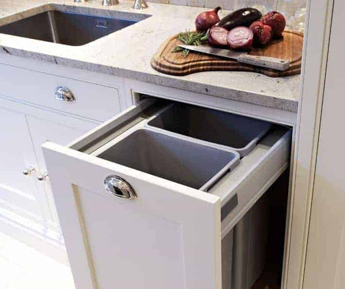 Pull Out Bins Family Friendly Kitchens