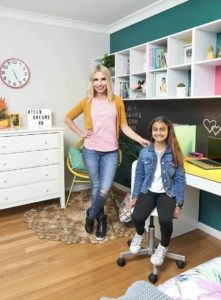 Tween to Teen Bedroom Makeover Cherie Barber