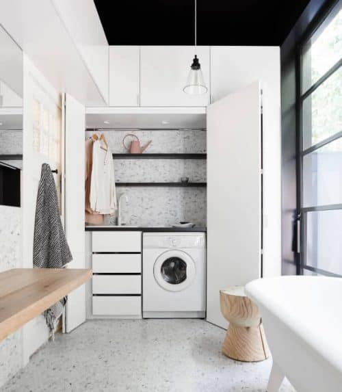 How To Design A European Laundry Renovating Mums