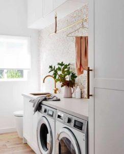 beautiful small laundry ideas