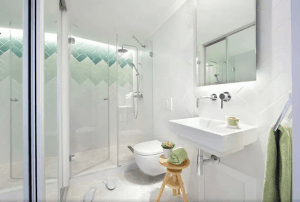 Small bathroom Simple Design to Increase Space