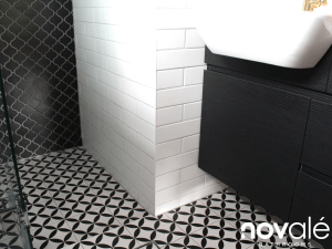 Types of Patterned Bathroom tiles