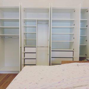 plan and design a walk in wardobe or closet Sydney