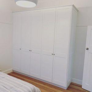 plan and design sliding door hinged door wardrobe sydney