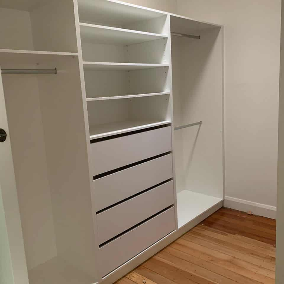 what makes a good walk in wardrobe