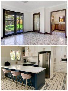 kitchen renovation heritage art deco renovation Californian bungalow sydney